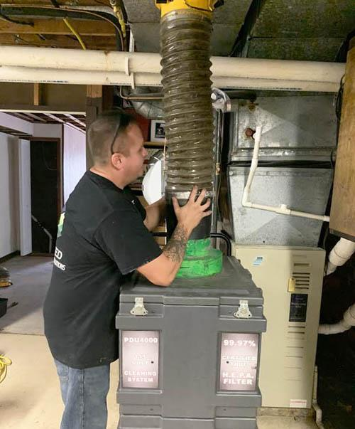 Air duct cleaning services Hamburg MI