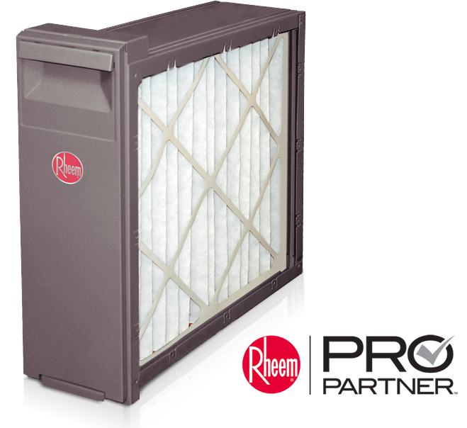 Rheem media air filtration systems available in Livingston County