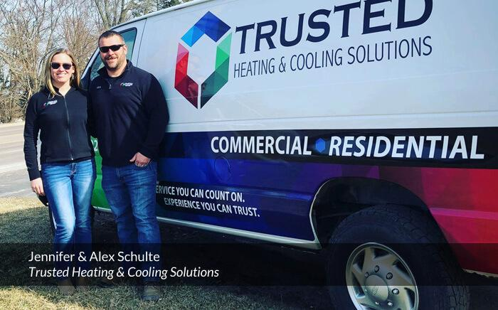 Call Trusted Heating & Cooling Solutions for 24-hour furnace repair in Ann Arbor