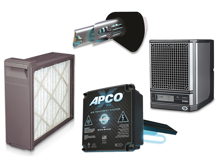 Indoor air quality purifiers Brighton, MI