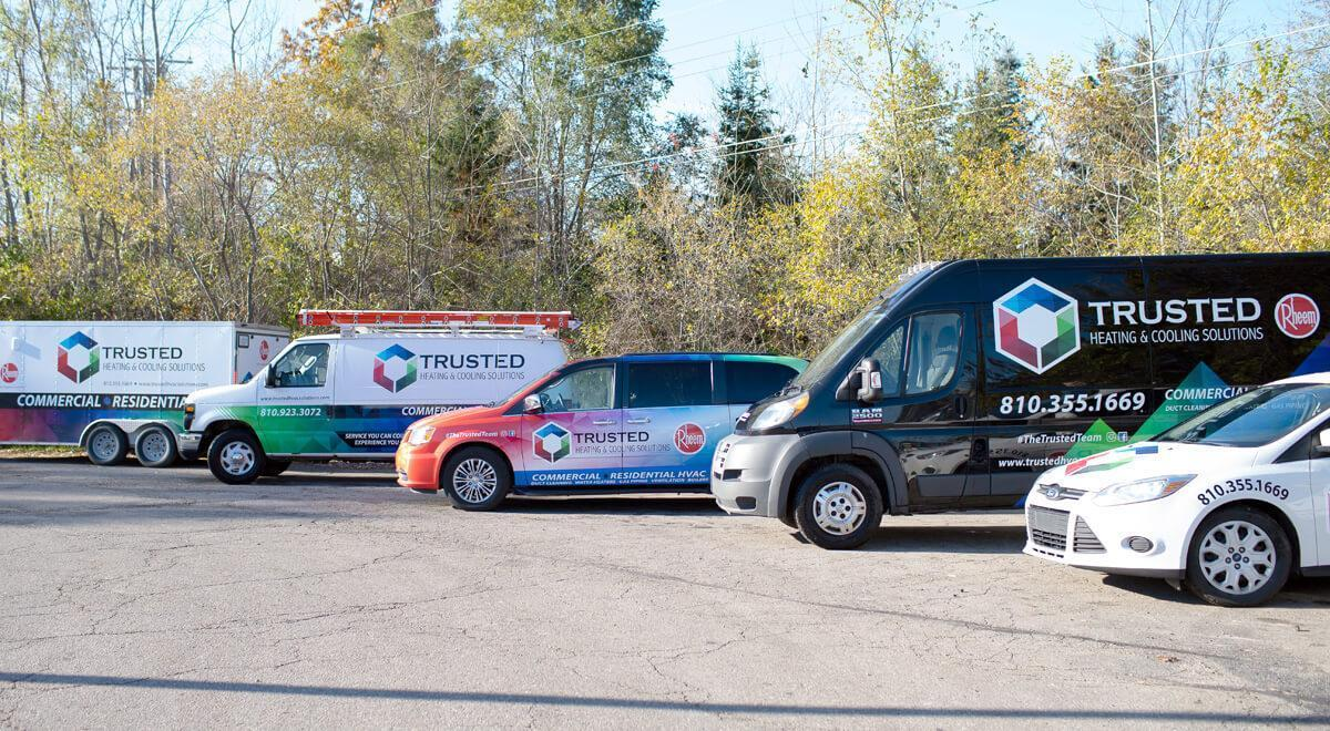 Trusted heating and cooling Brighton MI - HVAC, water heaters, indoor air quality, gas line company serving Livingston, Oakland, Washtenaw, Ingham Counties