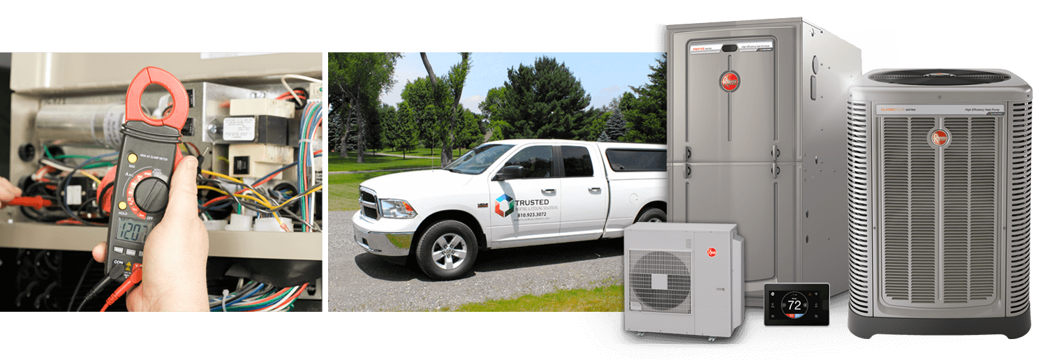 heating furnace company Brighton Livingston County Michigan