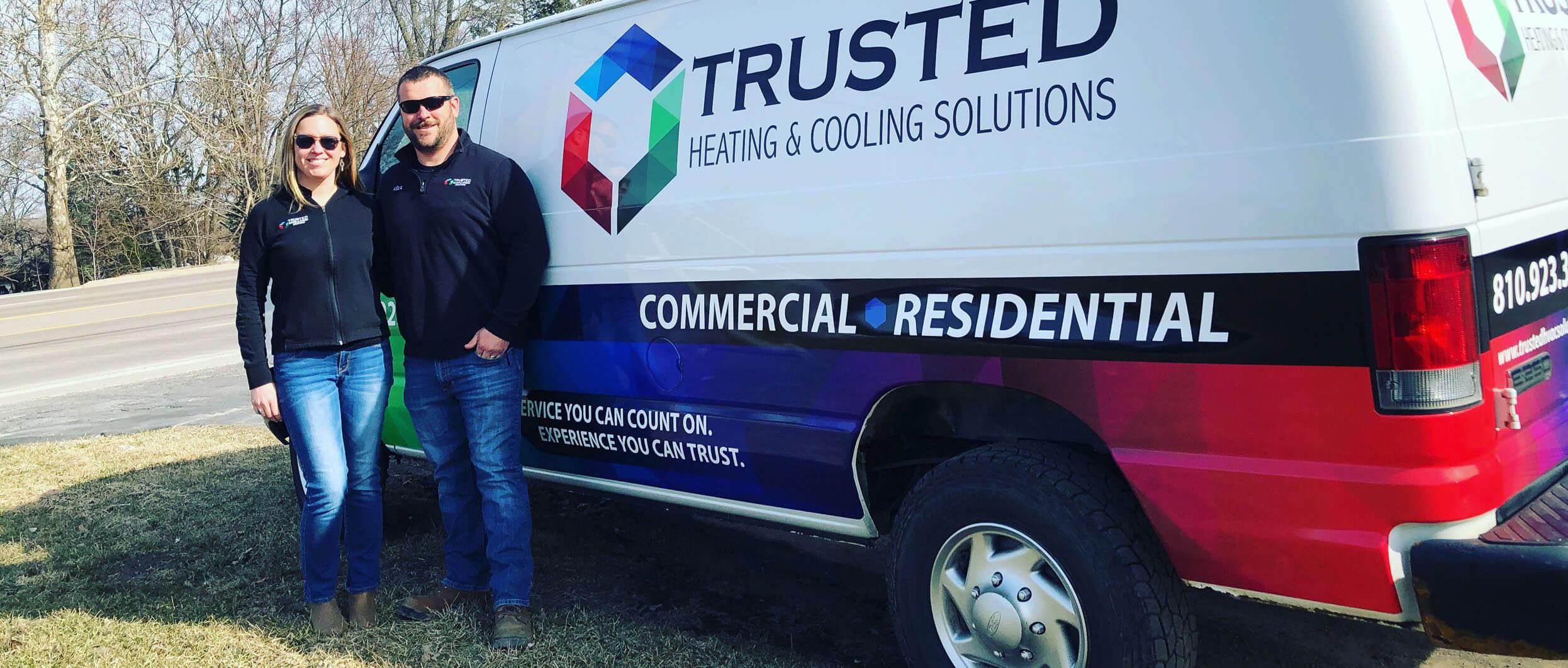 Heating and furnace repair company Livingston County