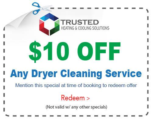 dryer cleaning services special Michigan