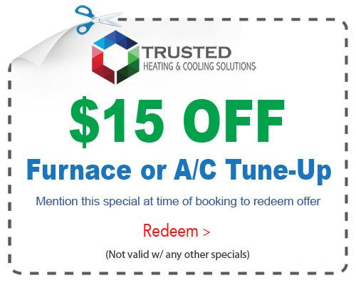 Furnace or AC tuneup special Michigan