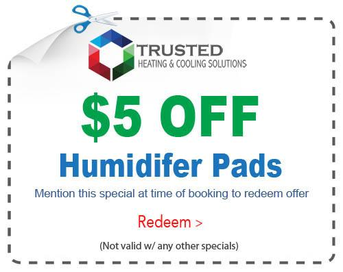 humidifier pads special