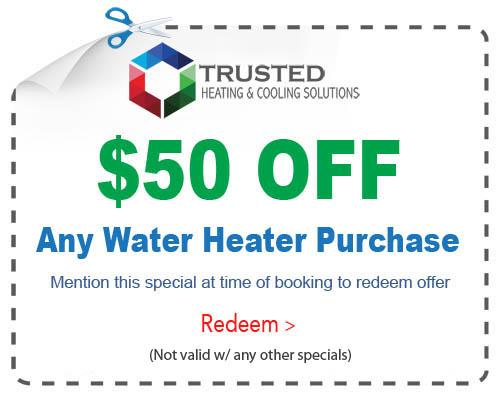 new water heater special michigan