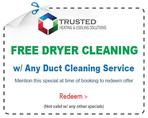 duct and vent cleaning special Michigan